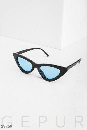 Очки с узкими стеклами
