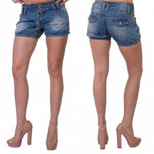 Оригинальные женские джинсовые шортики от ТМ Semir Jeans. Хвала дизайнерам, придумавшим такой эксклюзив! №261