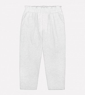 Брюки для девочки Crockid КР 4658 серый меланж к197