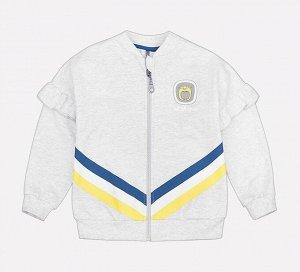 Куртка для девочки Crockid КР 300592/1 серый меланж к197