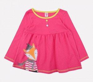 Платье для девочки Crockid К 5519 темно-розовый1
