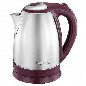 Чайник электрический 2000 Вт, 1.8 л ВАСИЛИСА ВА-1020 бордовый