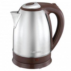 Чайник электрический 2000 Вт, 1.8 л ВАСИЛИСА ВА-1022 коричневый