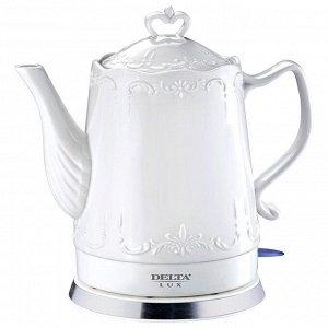 Чайник электрический 1500 Вт 1,5 л DELTA LUX DL-1236