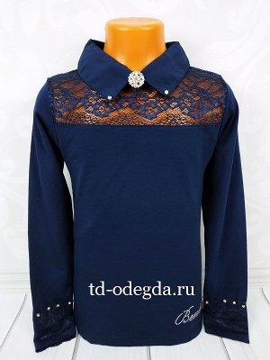 Шикарная модная блузка в школу р 140