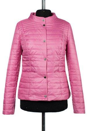 04-2277 Куртка демисезонная University (синтепон 100) Плащевка розовый