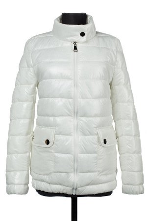 04-2275 Куртка демисезонная (синтепух 150) Плащевка белый