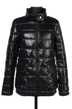 04-2274 Куртка демисезонная (синтепух 150) Плащевка черный