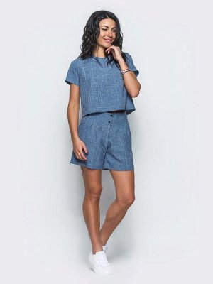 Комплект блузка + шорты