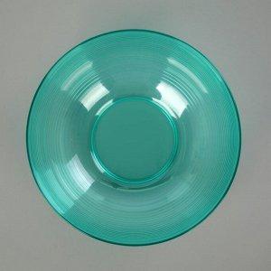 Салатник 2 л Fresh, цвет мята полупрозрачный