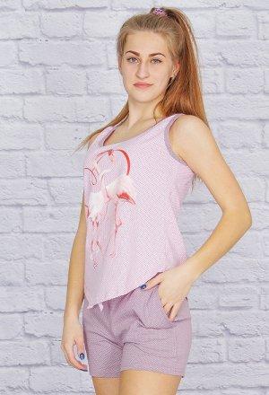"""Пижама """"Фламинго"""", шорты"""