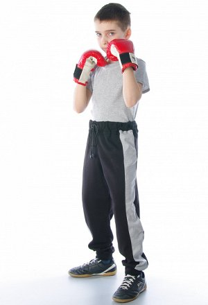 Брюки спортивные на манжетах, детские