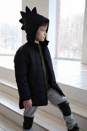 Куртка Дино подростковая демисезонная черная
