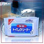 """""""Showa Siko"""" """"Toilet cleaner"""" Влажные салфетки для очищения унитаза, 24 шт."""