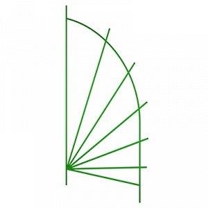 "Шпалера ""Парус мини"" 1,50х0,62м, труба д1см, металл, зеленая эмаль (Россия)"