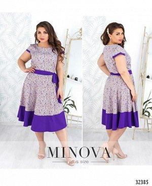 Платье №17-39-фиолетовый