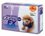 """208257 """"Neo Loo Life"""" """"NEO SHEET FX"""" Пелёнки впитывающие для домашних животных, тонкие (32*44 см), 100шт/уп"""