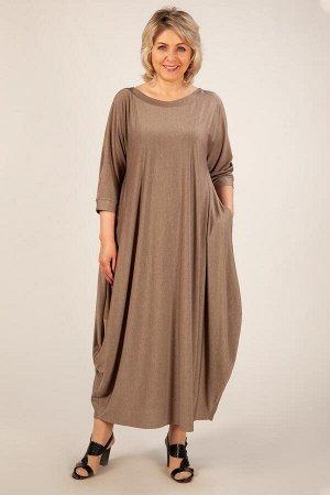 Платье Эвита бежевый