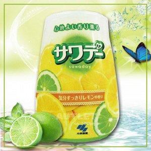 Освежитель воздуха для туалета «Lemon»/«Sawaday–аромат лемонграсса»