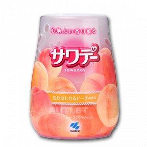 Освежитель воздуха для туалета «Sawaday – аромат персика в шампанском»