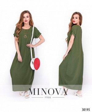 Платье №474-зеленый