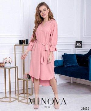 Платье №3011-пудра