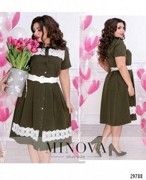 Платье №099-хаки