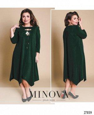 Платье №17-95-1-зеленый
