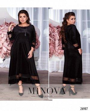 Платье №18-53-черный
