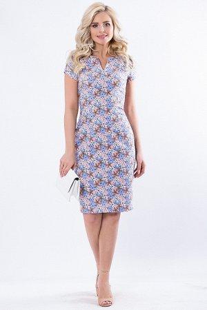 Платье 7612. Хлопок 95%, лайкра 5%. Обмен на 48 или продам.