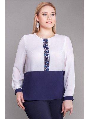 нарядная блуза  размер 58 как на фото