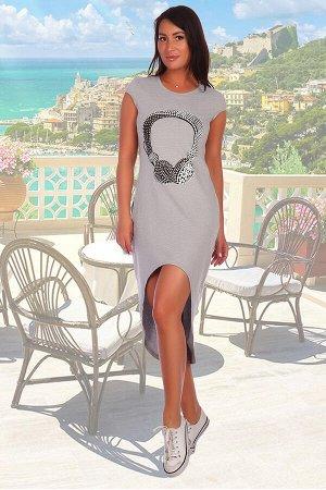 Домашнее платье цвет ХАКИ