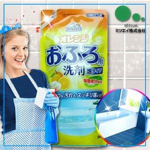 """""""Mitsuei"""" Средство для чистки ванн с цитрусовым ароматом, (мягкая экономичная упаковка)"""