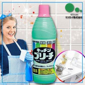 """""""Mitsuei"""" Универсальное кухонное моющее и отбеливающее средство 600мл"""