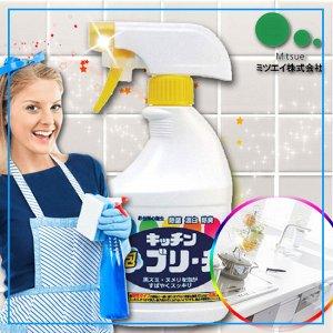 """""""Mitsuei"""" Универсальное кухонное моющее и отбеливающее пенное средство с возможностью распыления"""