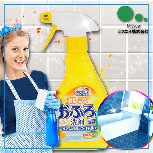 """""""Mitsuei"""" Средство для чистки ванн с цитрусовым ароматом (с эффектом распыления)"""