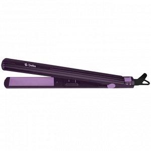 Щипцы для выпрямления волос  DL-0537 фиолетовые