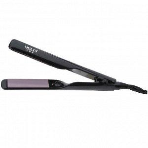 Мультистайлер 2в1 для выпрямления и завивки волос  LUX DL-0535 черный с фиолетовым