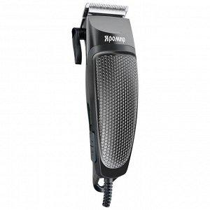 Машинка для стрижки волос 10 Вт ЯРОМИР ЯР-701 серая