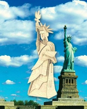 Статуя Свободы (мал.)