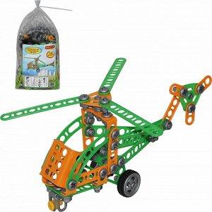 Конструктор Изобретатель  Вертолёт №1 (130 эл)