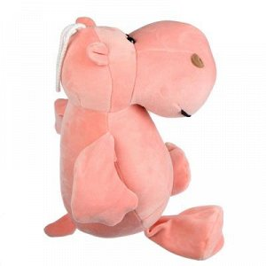 МЕШОК ПОДАРКОВ Игрушка мягкая Бегемот плюшев, полиэстер, 30х37х16см, 2 цвета