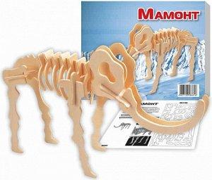 Мамонт Конструктор развивает моторику рук, усидчивость, внимательность, пространственное и абстрактное мышление. Выполнен из экологически чистой древесины, не содержит формальдегид.Детали выдавливаютс