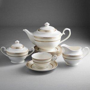 """Набор чайный 15 предметов МА024P/15 """"Нормандия"""" в подарочной коробке"""
