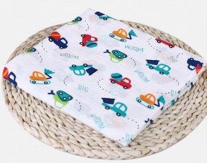 Пеленка 110*110см. Муслиновые пеленки - лучшее, что можно предложить новорожденному малышу в качестве самой первой пеленки.  Муслин превосходно контролирует температуру, помогая малышу сохранять тепло