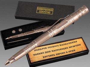 Многоцелевая тактическая ручка эргономичной формы - крутой подарок для настоящих мужчин №15