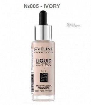 Продам новую тональную основу Eveline Liquid control