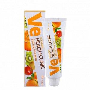 Зубная паста «Mukunghwa»/ «Vitamin Health Clinic» с витаминами для профилактики заболеваний десен (в коробке) 100г /40