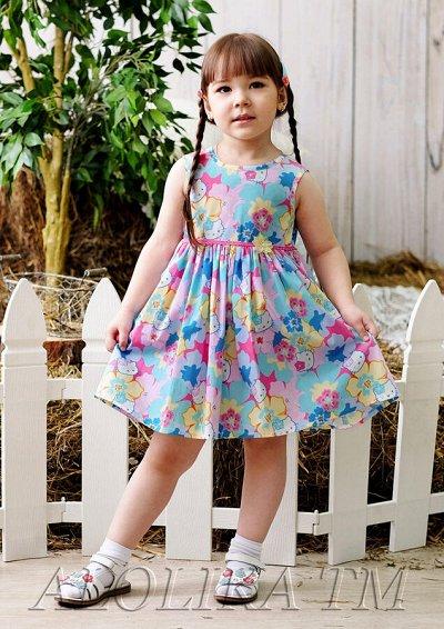 29*В школу, в садик и на праздник! Форма, банты, юбки и др — Платья из хлопка — Для девочек