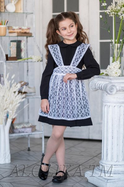 28*В школу, в садик и на праздник! Форма, банты, юбки и др — Фартуки — Одежда для девочек